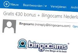 nieuwsbrief bingocams