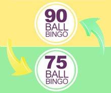 75ball bingo en 90ball bingo
